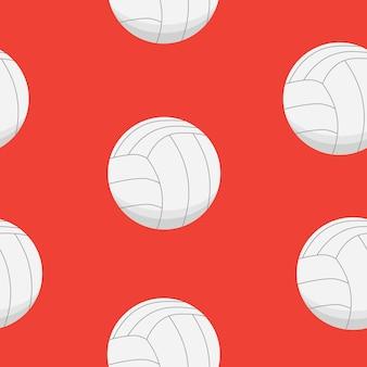 Projekt sportowy. wzór piłek do siatkówki.