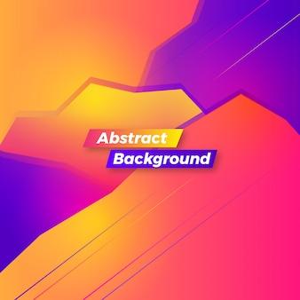 Projekt streszczenie tło nowoczesny gradient