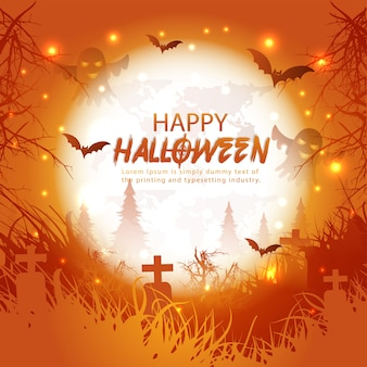 Projekt strony halloween