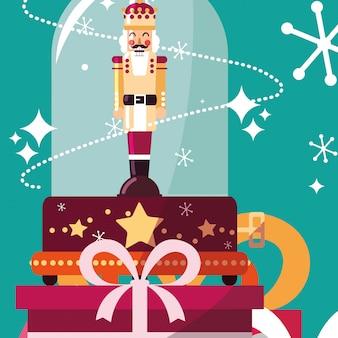 Projekt świątecznej pozytywki