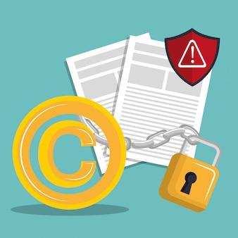 Projekt symbolu praw autorskich