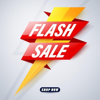 Projekt szablonu banera sprzedaży flash