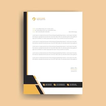Projekt szablonu firmowego nowoczesny firmowy premium wektorów