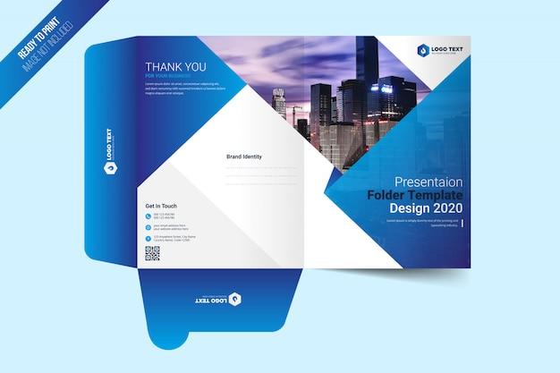 Projekt szablonu folderu prezentacji