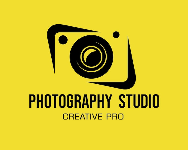 Projekt szablonu fotografii logo