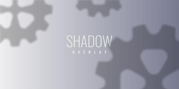 Projekt szablonu ilustracji nakładki cienia