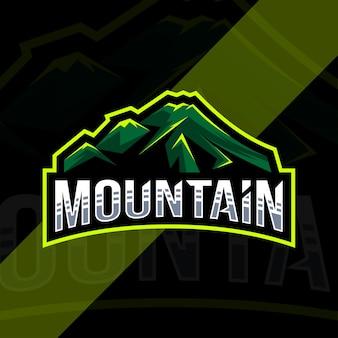 Projekt szablonu logo góry