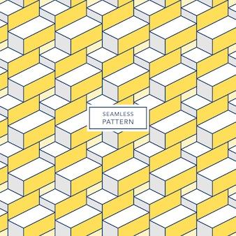 Projekt szablonu okładki z wielokolorowym wzorem geometrycznym. bezszwowe tło kwadratowe.
