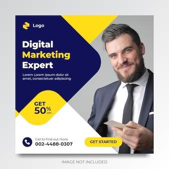Projekt szablonu reklam promocyjnych w mediach społecznościowych