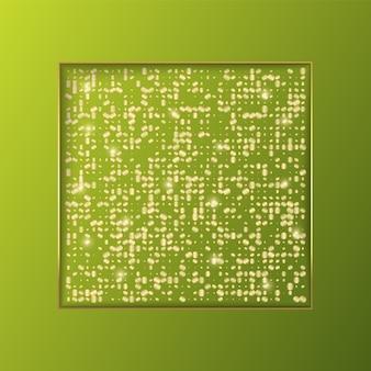 Projekt szablonu tła transparent z brokatem