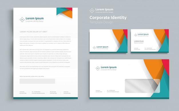 Projekt szablonu tożsamości korporacyjnej