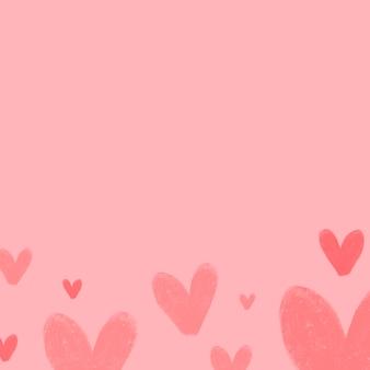 Projekt tło serca