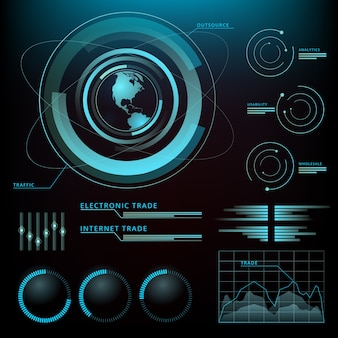 Projekt technologiczny infografiki