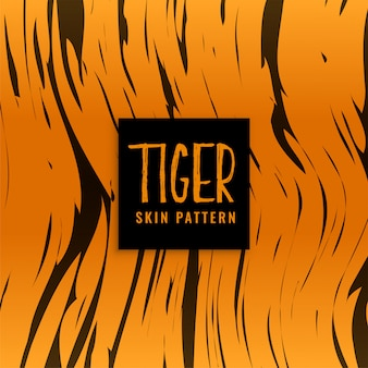 Projekt tekstury skóry wzór tygrysa