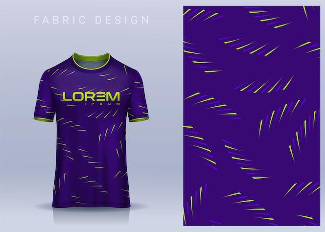 Projekt tkaniny tekstylnej na koszulkę koszulka piłkarska