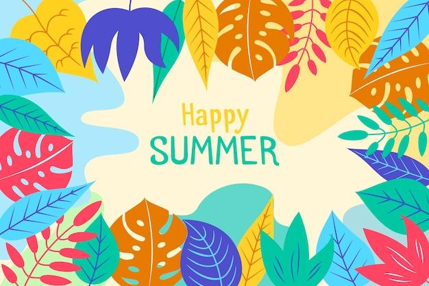 Projekt tła lato