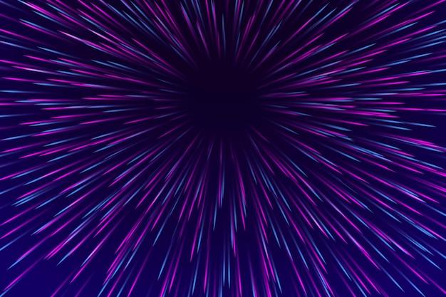 Projekt tła światła prędkości