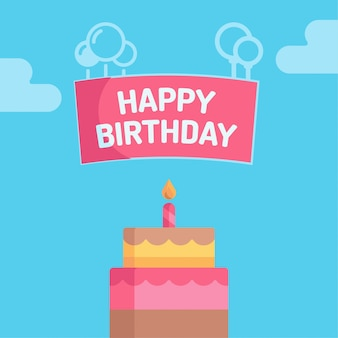 Projekt tła urodziny wszystkiego najlepszego z okazji urodzin