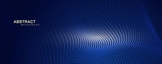 Projekt tło cząsteczek technologii siatki