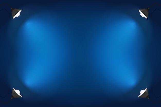 Projekt tło oświetlenie punktowe