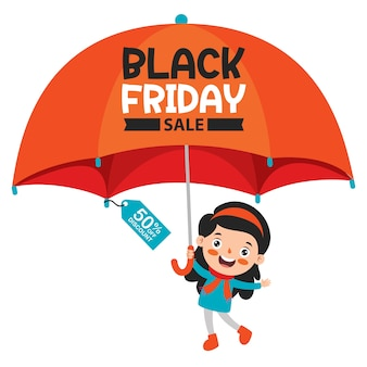 Projekt transparentu black friday sale