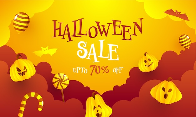 Projekt transparentu na halloween z 70% rabatem