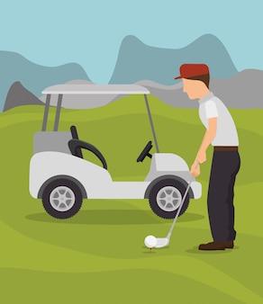 Projekt turnieju golfowego