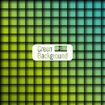 Projekt w stylu zielonym tle