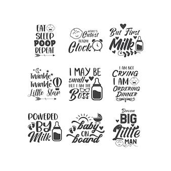 Projekt wektor napis cytat dla dzieci