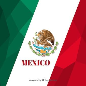 Projekt wielokątne meksykański flaga