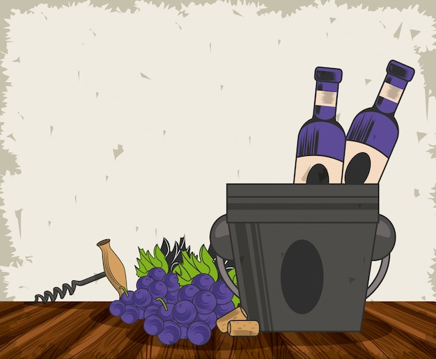 Projekt wina grunge