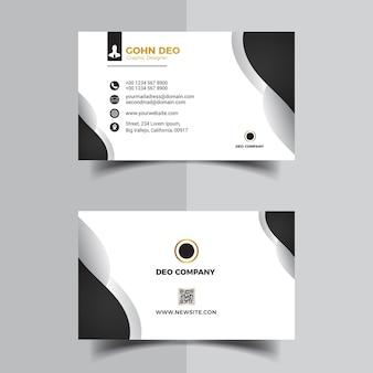 Projekt wizytówki firmy