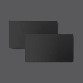 Projekt wizytówki makieta wektor