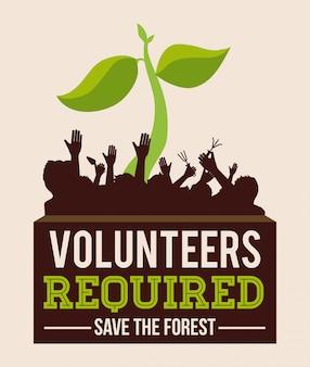 Projekt wolontariatu.