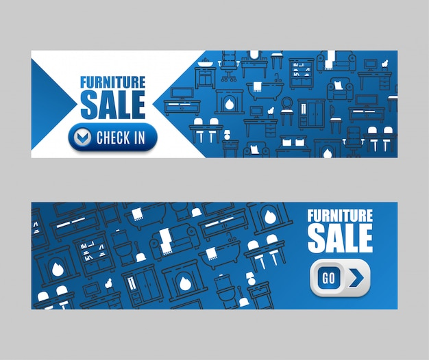 Projekt wyposażenia salonu baner sprzedażowy salonu