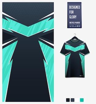 Projekt wzoru koszulki piłkarskiej