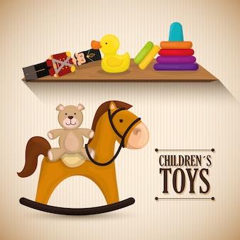 Projekt zabawek dla dzieci.