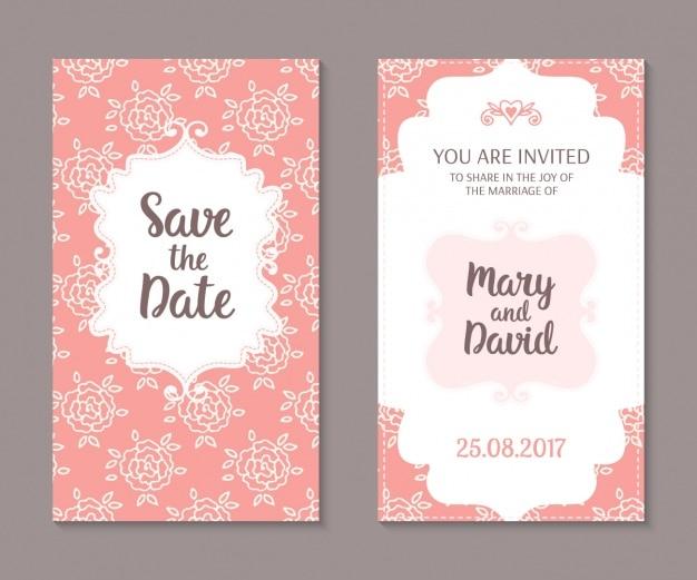 Projekt zaproszenie ślubne