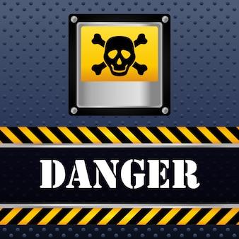 Projekt znaku ostrzegawczego