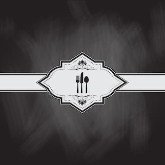 Projektowania menu z efektem tablicy