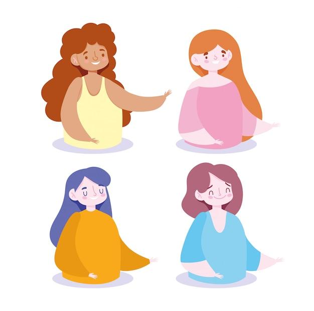 Projektowanie awatarów dla kobiet