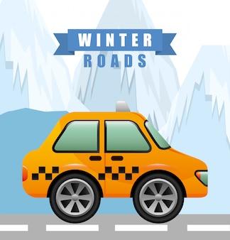 Projektowanie dróg zimowych