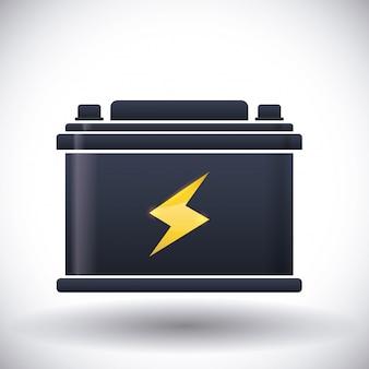 Projektowanie energii baterii.