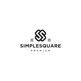 Projektowanie ikona logo litery ss