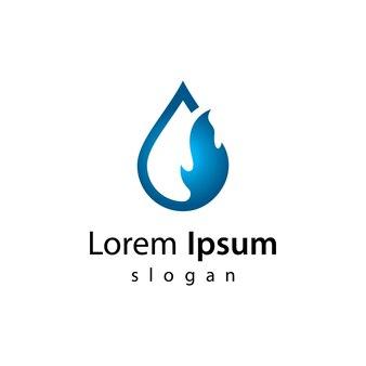Projektowanie ilustracji logo ropy naftowej i gazu