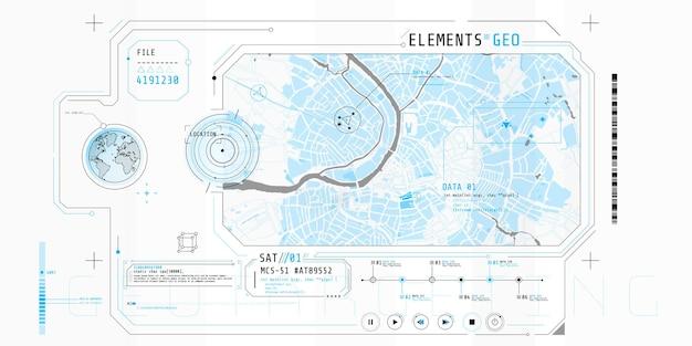 Projektowanie interfejsu oprogramowania do wyszukiwania, wykrywania lub geolokalizacji obiektu.
