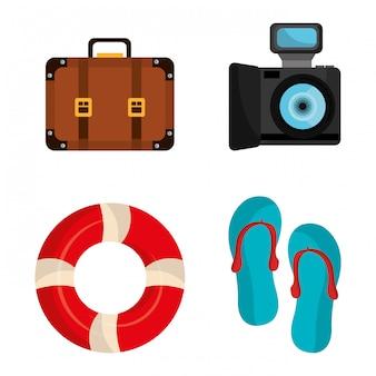 Projektowanie letnich wakacji.