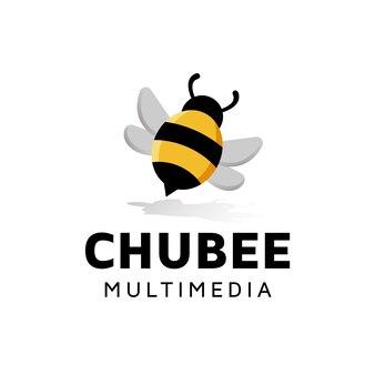 Projektowanie logo chubby bee