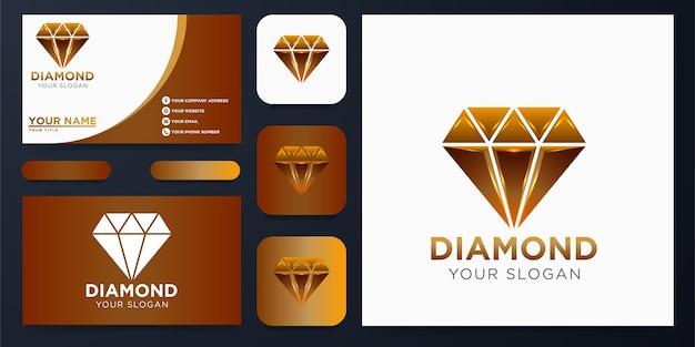 Projektowanie logo diamentu