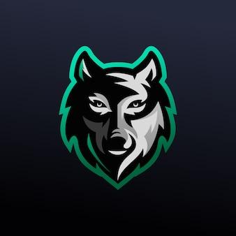 Projektowanie logo e-sportu wilka